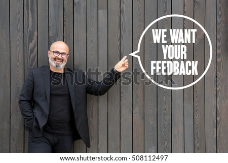 We Want Your Feedback #508112497