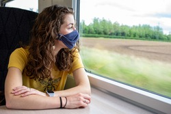 Wear a mask on the train coronavirus uk travel rail railway transport public