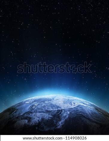 Weather from space. Elements of this image furnished by NASA