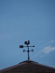 Weathercock, in Hadano City Kanagawa