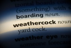weathercock word in a dictionary. weathercock concept, definition.