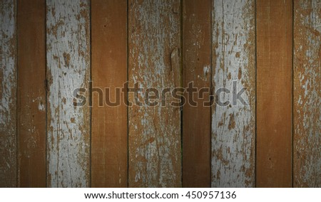 Weathered Barn Wood Background With Knots. White Brown Old Wood