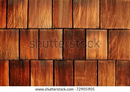 weathered cedar shakes