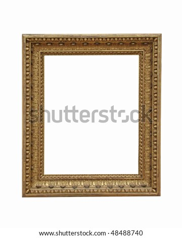 weathered golden picture frame 02