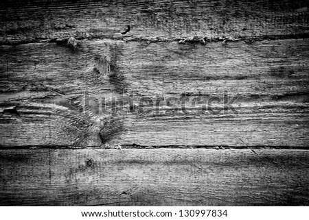 Weathered obsolete rough textured wood grunge background