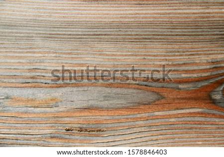 Weathered plank of Weathered plank of larch wood in close-upin close-up