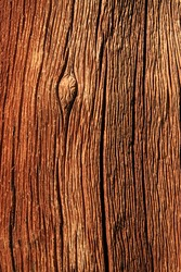 weathered red splitting pine wood trunk background texture