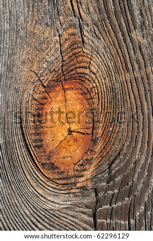 Weathered textured obsolete wooden rough plank background