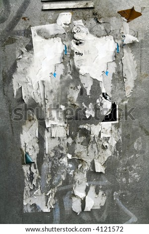 weathered urban street poster  wall