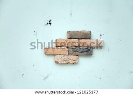 weathered wall/brick wall