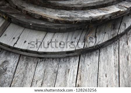 weathered wood floor/weathered wood