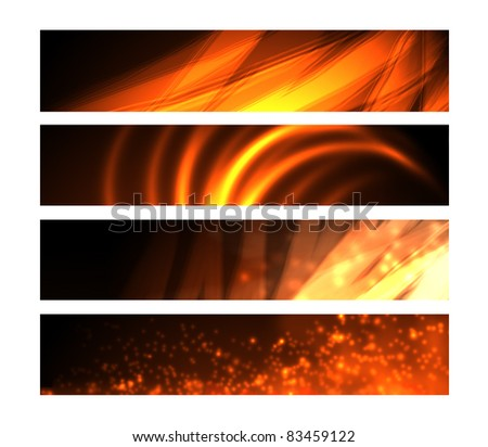 Web Banners - Fire