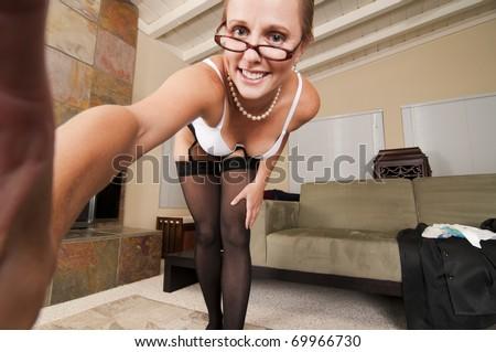 stock photo : Web Cam Striptease #14