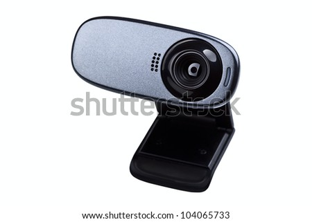 web camera isolated on a white background