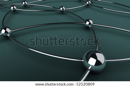 web communication abstract background