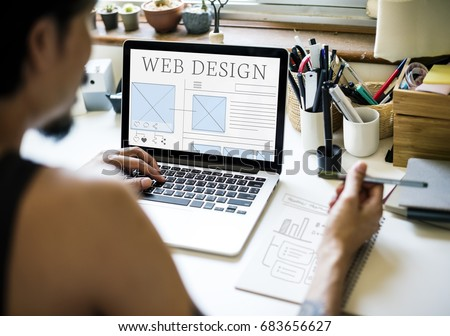 Web design ideas layout technology website