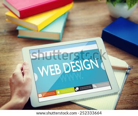 Web design Website Web  page WWW Online Internet Concept