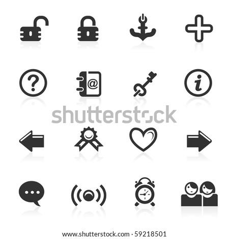 web & Internet icons 4 - minimo series