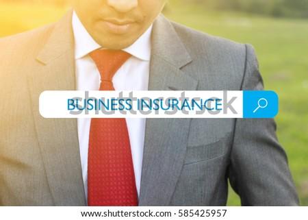 WEB SEARCH : BUSINESS INSURANCE CONCEPT