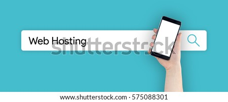 WEB SEARCH: WEB HOSTING CONCEPT #575088301