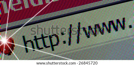 web site connection search - stock photo