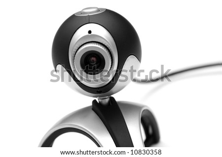 Webcam on white