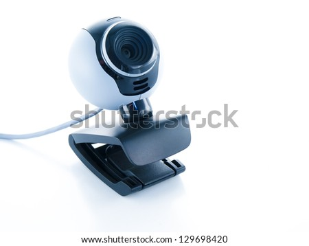 webcamera isolated on a white background