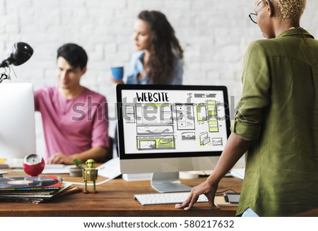 Website development layout sketch drawing #580217632