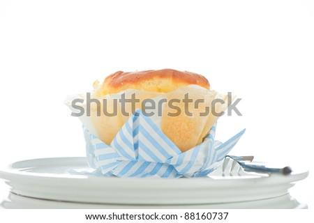 Wedding anniversary cupcake