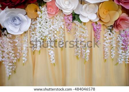 Free photos paper flowers in wedding decor luxury wedding paper flowers in wedding decor luxury wedding decoration 484046578 mightylinksfo