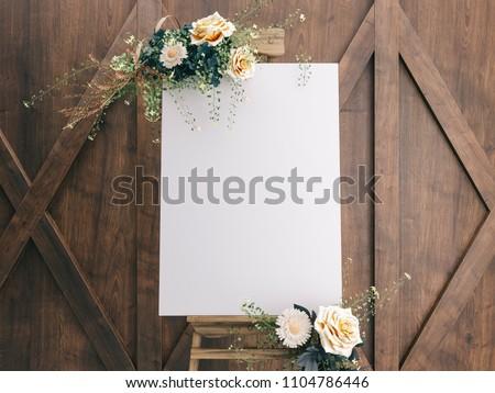 Wedding Board Mockup #1104786446