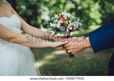 Wedding bouquet #340877942