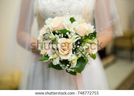 Wedding bouquet #748772755