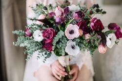 Wedding bouquet. Bride's flowers
