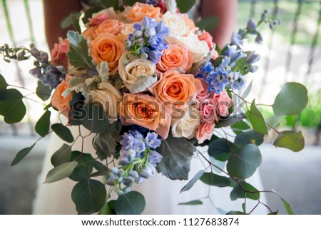 Wedding Bouquet Flower  #1127683874