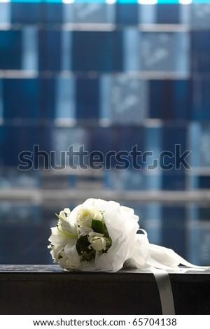 wedding bouquet white flower