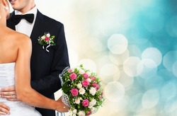 Wedding, Bride, Groom.