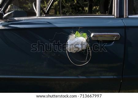 wedding car #713667997