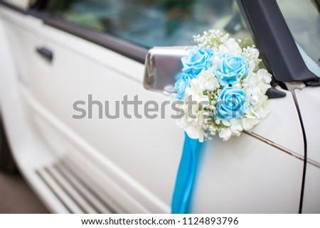 Free Photos Wedding Car Decoration Close Up Avopix
