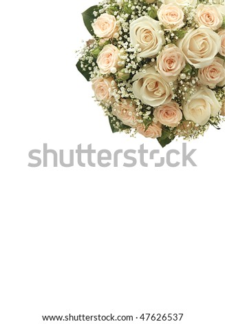 stock photo Wedding card with place for your text text wedding card
