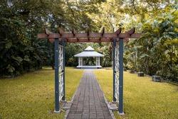 Wedding Chapel at Port Moresby Nature Park. Papua New Guinea.