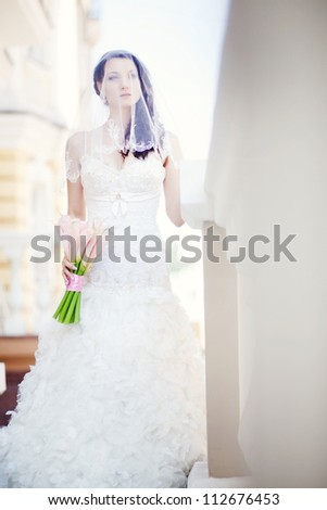 Wedding day. Beautiful young bride