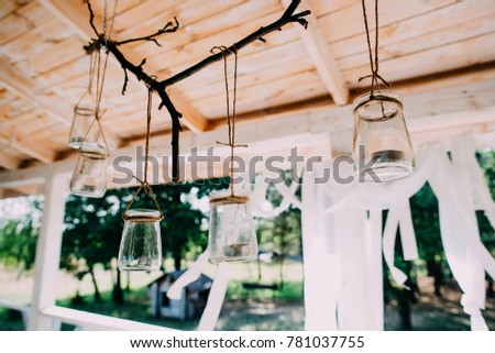 Wedding decor, decor table for the groom and the bride #781037755