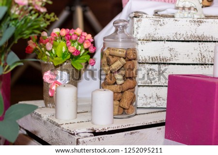 wedding decor, lively flowers #1252095211