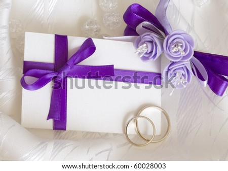 Purple Wedding Decorations on Wedding Decoration In Purple Stock Photo 60028003   Shutterstock