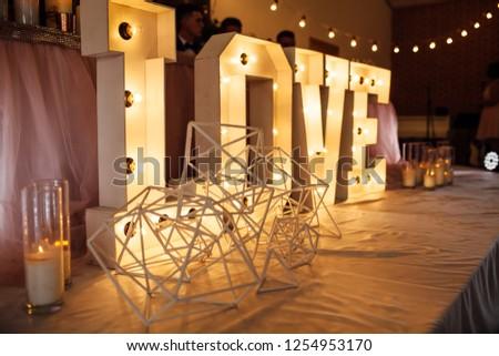 wedding decorations, holiday decorations romantic items
