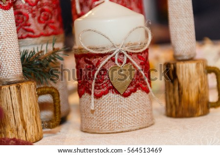 Wedding decorations, wedding decoration, handicraft #564513469
