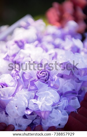wedding decorative flower #738857929