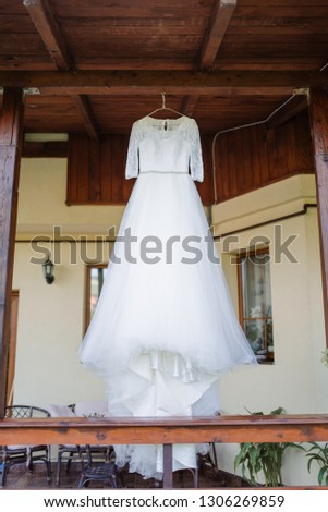 Wedding dress, bride dress