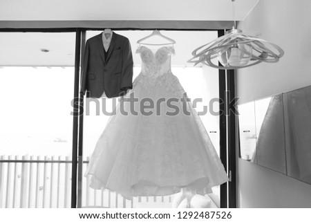 Wedding dress, groom dress, bridal dress